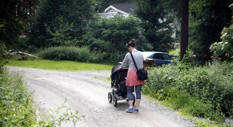barnvagnspromenad