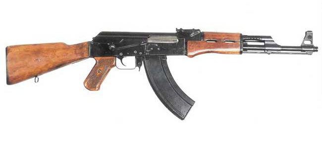 Kalashnikov's assault rifle AK-47 type-1