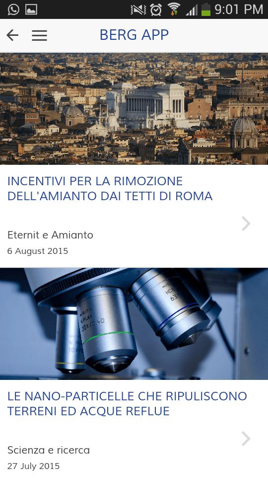 Berg App - Blog di Eneracque