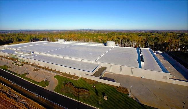 El centro de datos de Apple usa 100% energía renovable