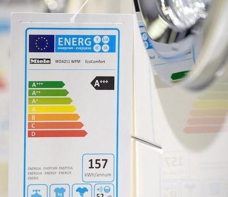 Nuove etichette energetiche per gli elettrodomestici