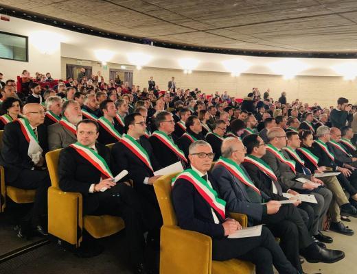 """Giornate dell'Energia, Musumeci incontra i Sindaci: """"Protagonisti in questa nuova fase per tutelare l'ambiente""""."""