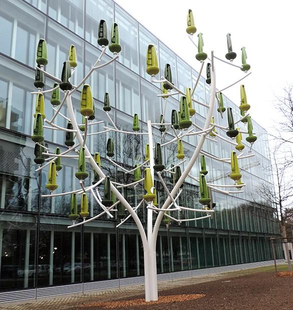 El árbol eólico