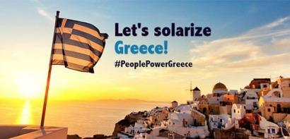 Greenpeace quiere llevar energía solar a los griegos más golpeados por la crisis