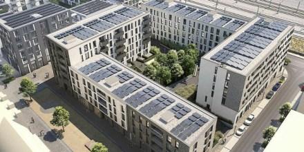 Wasserstoff-Heizung für ein neues Wohnquartier in Esslingen