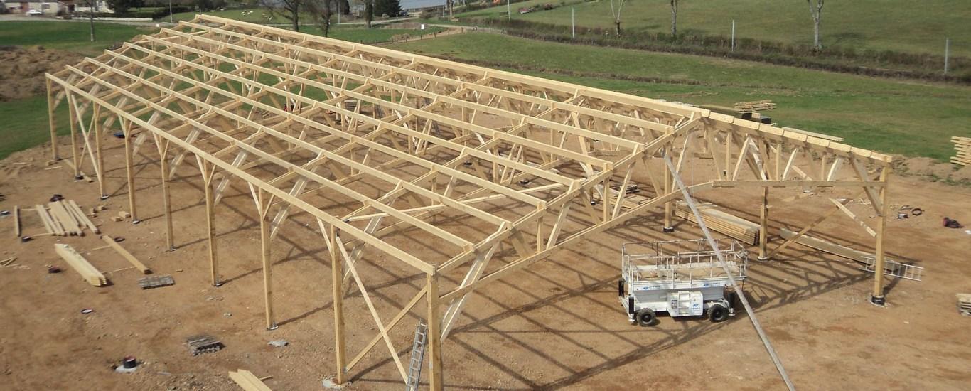 batiment agricole bois ou metallique
