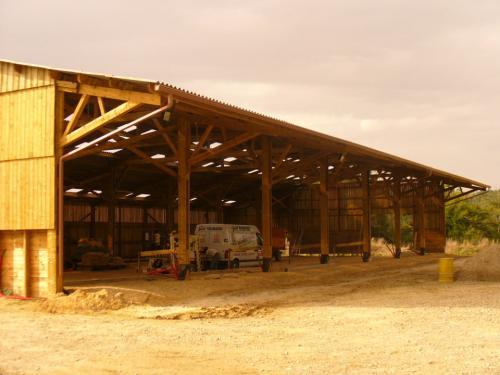 batiment agricole bois intrabois