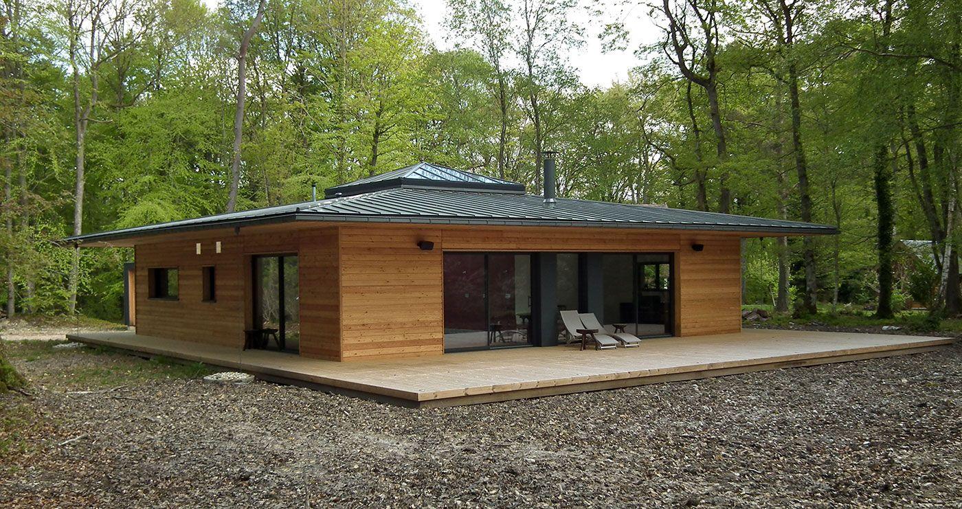 idée plan maison ossature bois