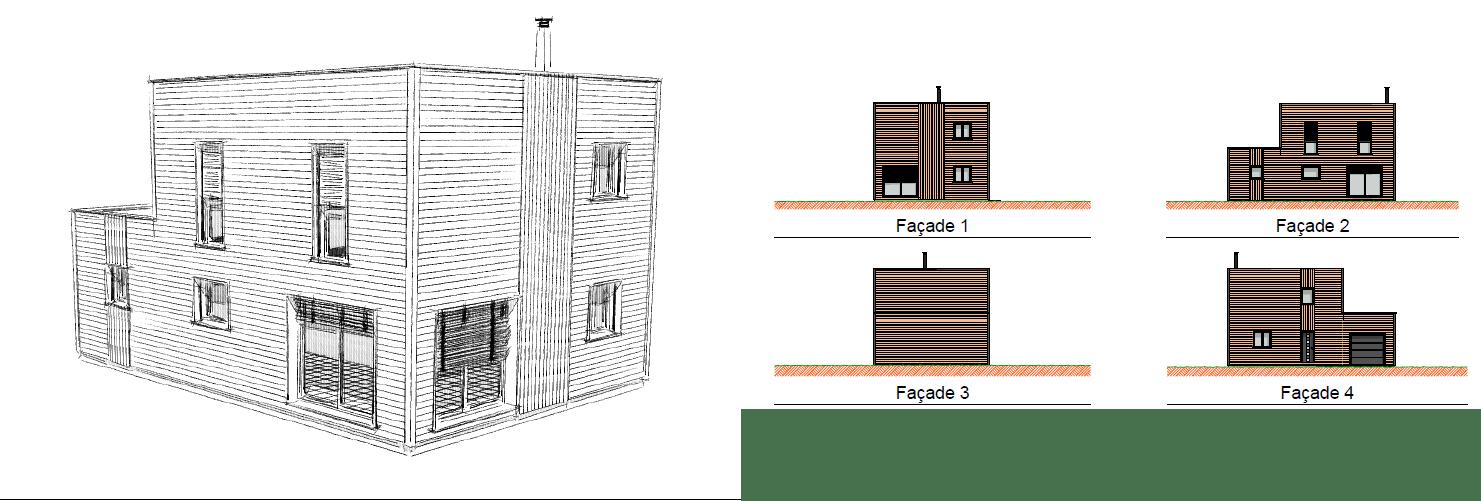 maison en bois bon plan