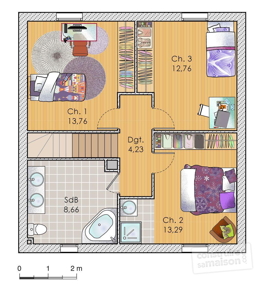 plan bar en bois maison