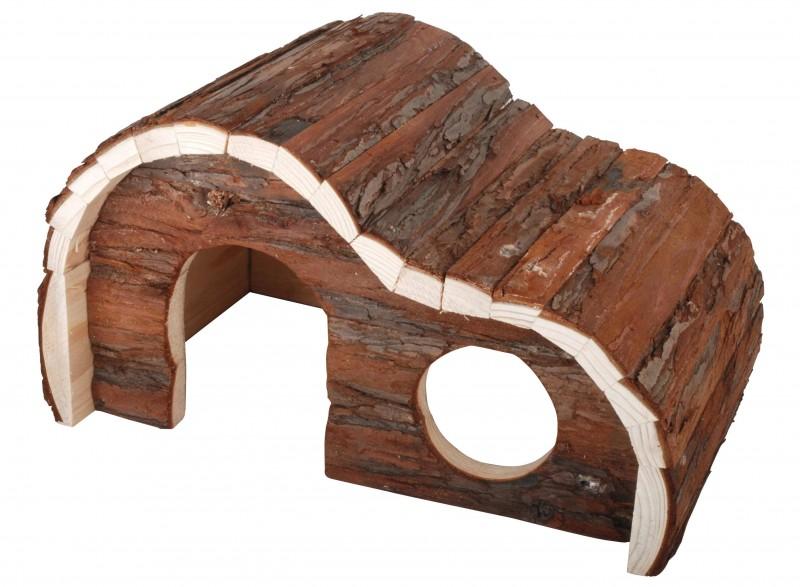 plan de maison en bois pour cochon d'inde