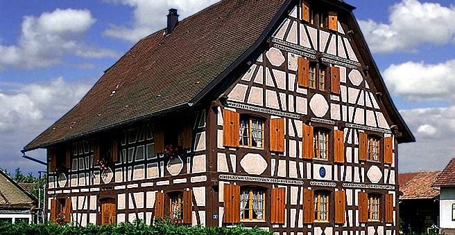 Plan Maison Bois Alsace