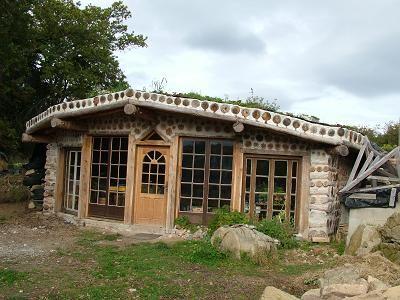 plan maison bois cordé