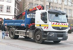 camion grue occasion