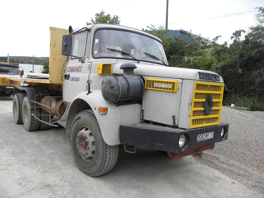 camion benne occasion renault