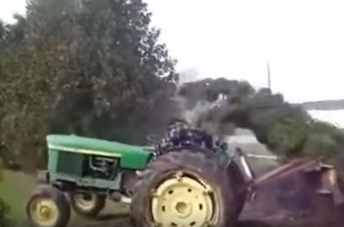 challenger tracteur