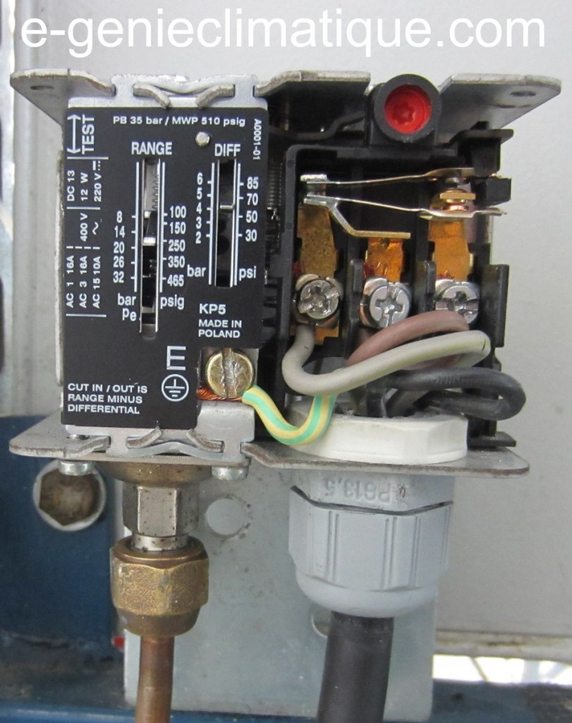 compresseur d'air chantier