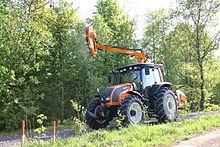 debroussailleuse tracteur