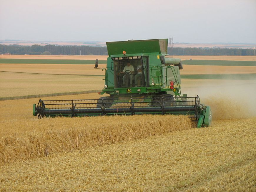 ferme cerealiere a vendre