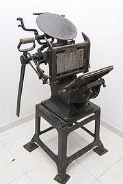 machine à presse