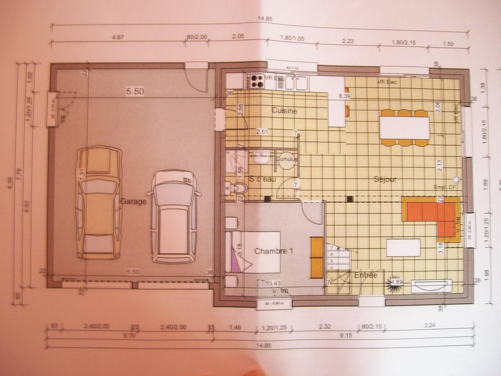 plan maison 3 chambres gratuit