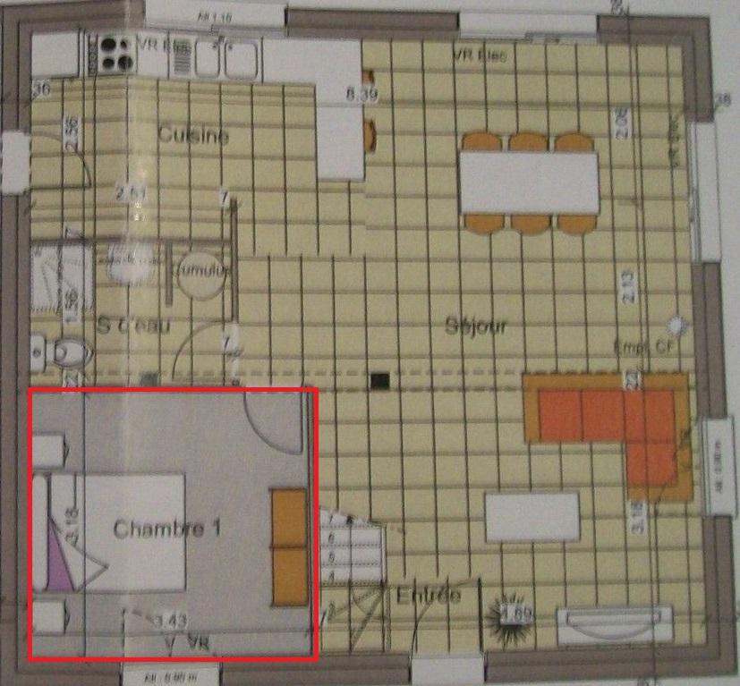 plan maison plain pied 140m2