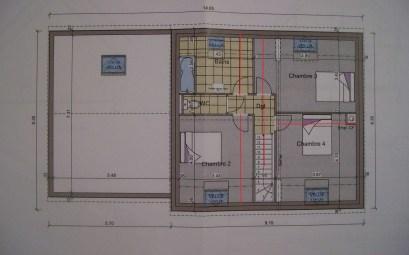 plan plein pied 3 chambres