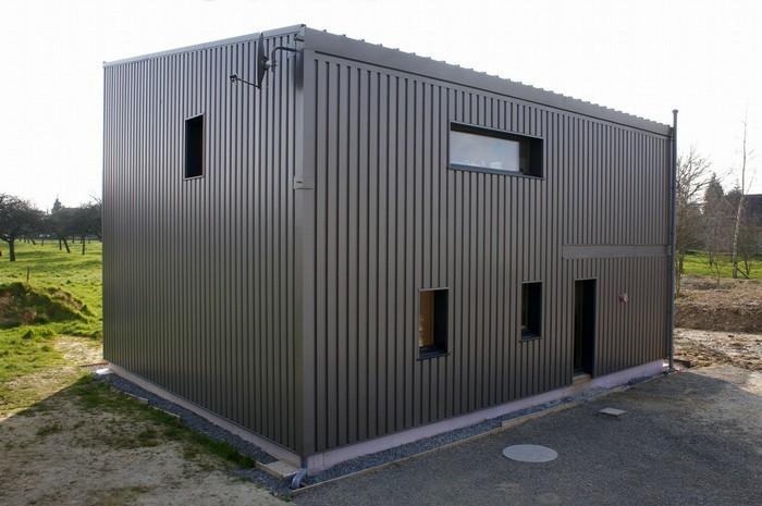 isolation par l'extérieur d'une maison