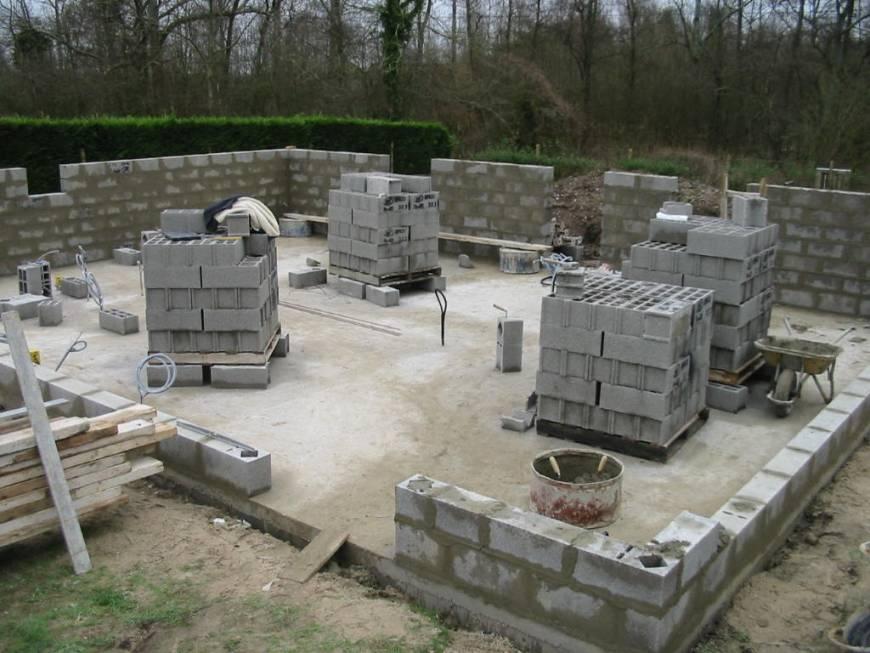 maison avec sous sol enterre