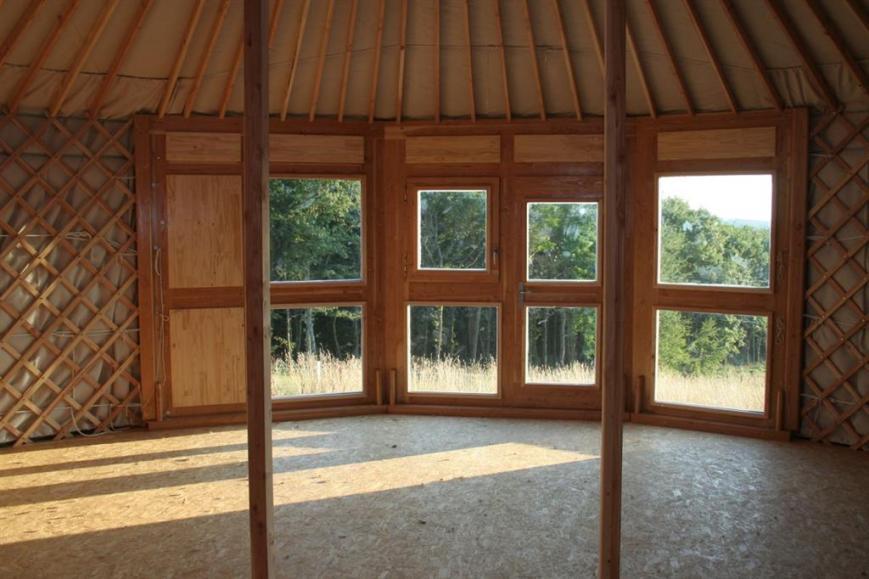 maison intérieur en bois