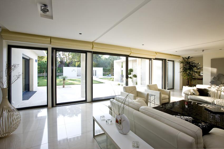 modèle maison moderne plain pied