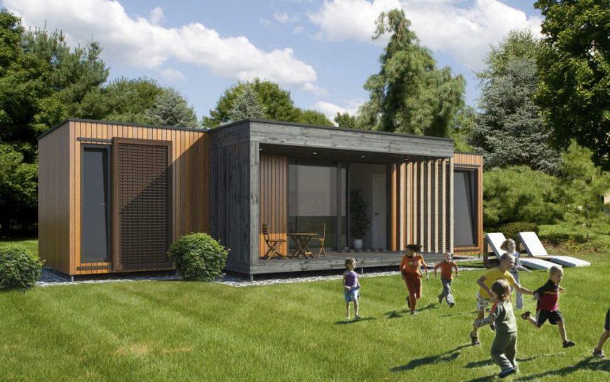 modèles maisons contemporaines plain pied