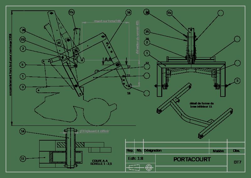 exemple plan de maison individuelle