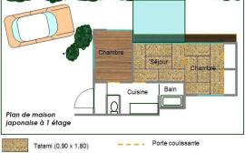 plan maison original plain pied