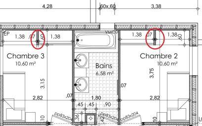 plan maison plein pieds