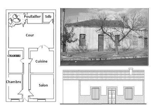 exemple de plan de maison