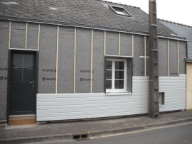 isolation de murs extérieur