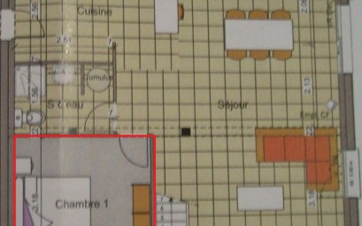 plan plain pied 2 chambres