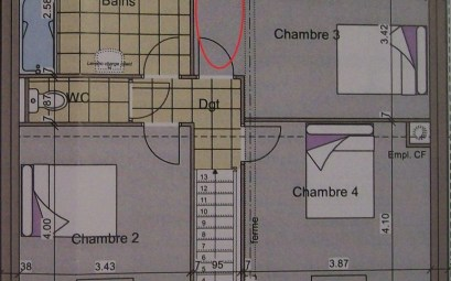 plan maison 100m2 avec garage