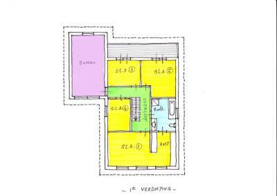 02-Plattegrond 1e Verdieping kl