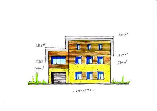 Ontwerp Energieneutraal woonhuis Atrium isolatieschil 7-10 Rc.