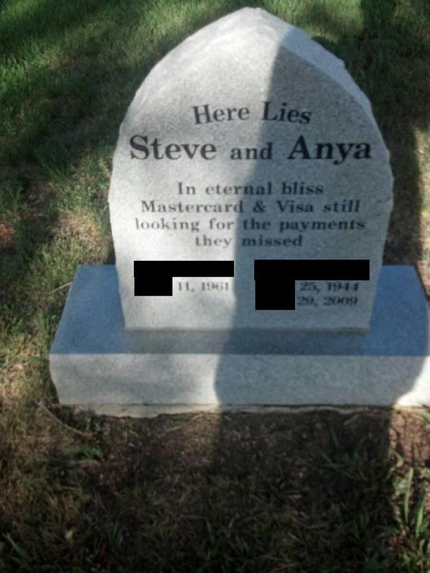 10 - Co si necháte vytesat na náhrobek Vy?