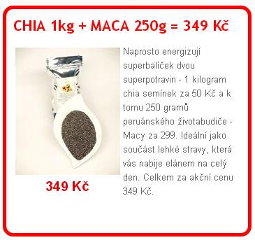 chia+maca - Jak odstranit velké póry s pouhými 2 přísadami