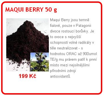 maqui - Maqui berry: zdraví prospěšná superpotravina
