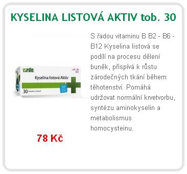 kyselina listov%C3%A1 - Pět překvapivých výhod kyseliny listové