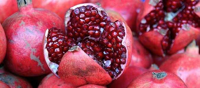 Granátové jablko: 12 stupňů k vašemu zdraví.