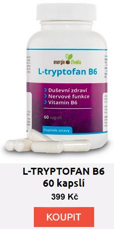 L-tryptofan pro kvalitní spánek.