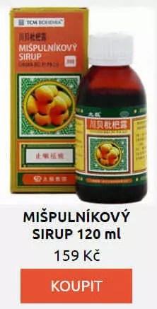 MIŠPULNÍKOVÝ SIRUP 120 ml
