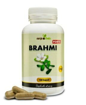 brahmi forte 100cps - Posílení mozku a paměti za pomoci 9 potravin