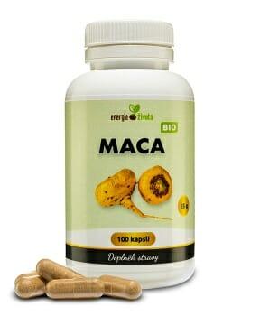 maca 100cps - 7 důležitých látek, které potřebuje každý po čtyřicítce